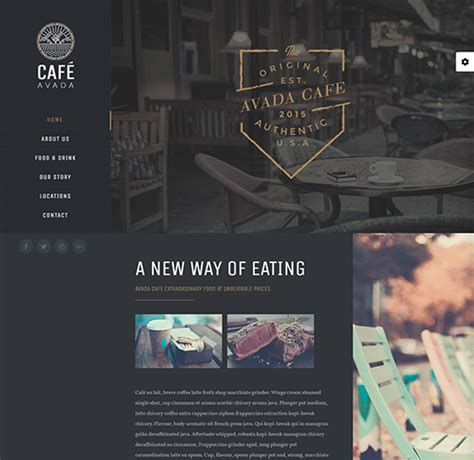 avada theme owner 15 best wordpress food blog themes for restaurant owners