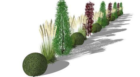 Pflanzengestaltung Garten by Sichtschutzkombinationen