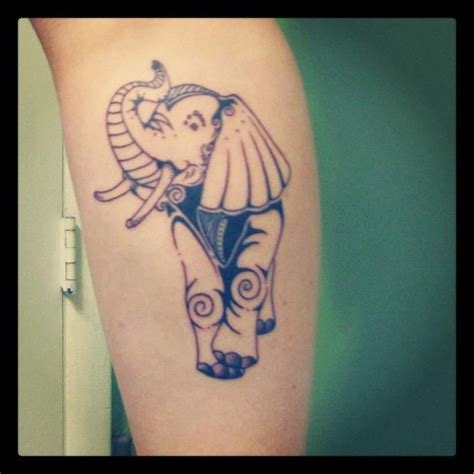 tattoo boise elephant by jon morse at devotion boise id