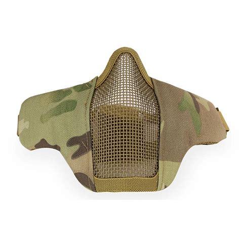 Wosport Masker Airsoft Gun wosport masker airsoft gun camouflage jakartanotebook