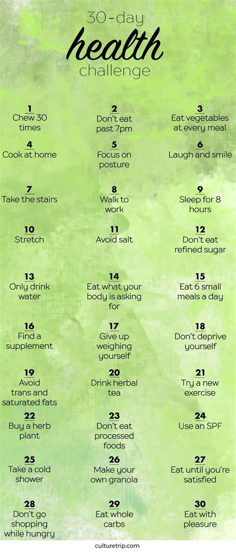 the health challenge 25 best ideas about health challenge on