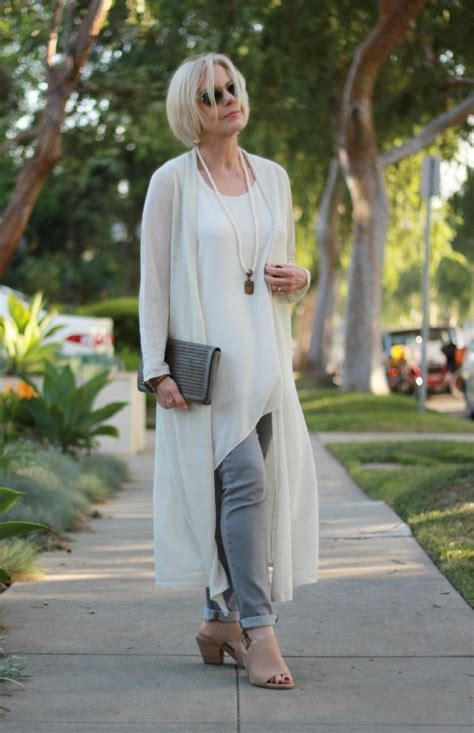 comfortable clothing for women over 60 eileen fisher long linen cardigan