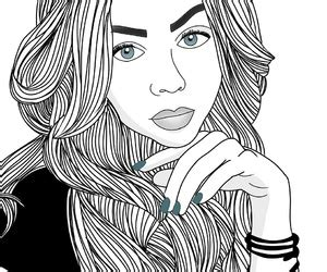 imagenes blanco y negro de mujeres 243 images about chicas en blanco y negro dibujos on we