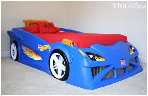hot wheels bed race car bedroom featuring the step2 hot wheels toddler to