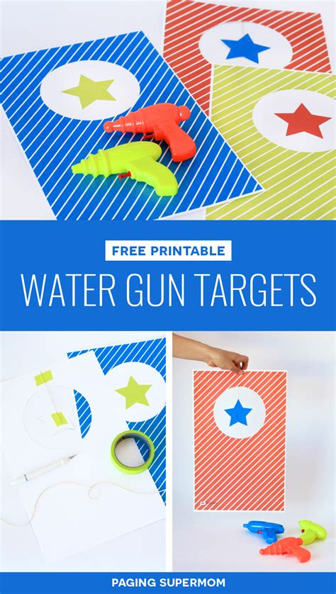 free printable targets to download the firearm blogthe water gun targets free printable targets for water squirters