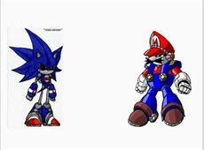 mecha sonic vs mecha mario. - YouTube Mecha Mario Vs Metal Sonic