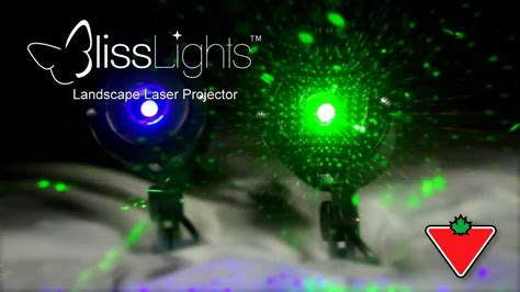 bliss laser light from canadian tire youtube