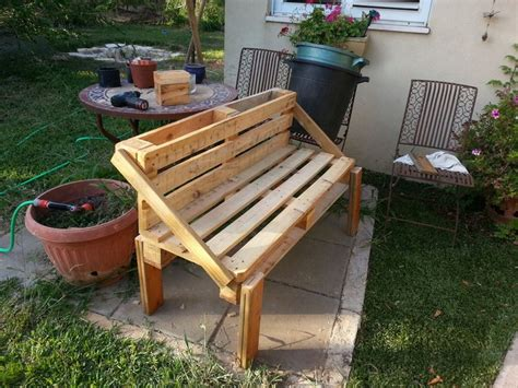 garden bench out of pallets wooden pallet garden bench plans pallet wood projects