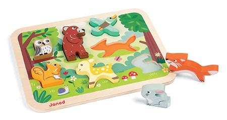atham toys chunky puzzle angka forest chunky puzzle