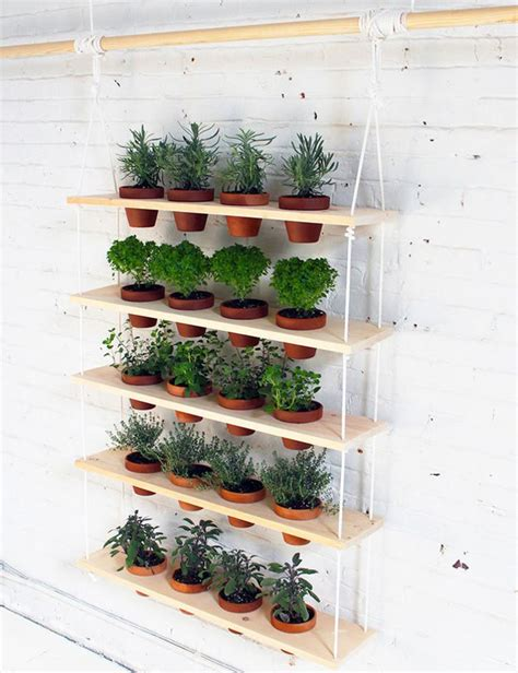 diy hanging herb garden indoor herb garden ideas homesteading indoor gardening tips