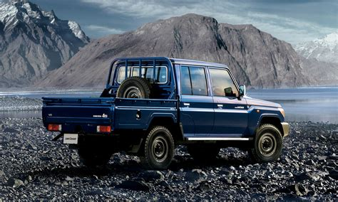 land cruiser pickup check out the reissued toyota land cruiser 70 pickup truck