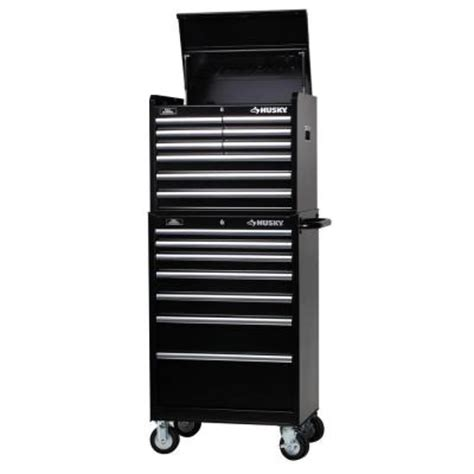 Husky 52 Socket Set Rental In Tx by Husky 27 In W 16 Drawer Tool Chest And Cabinet Set H9ch3