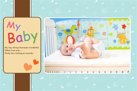 free photo templates my baby album 3