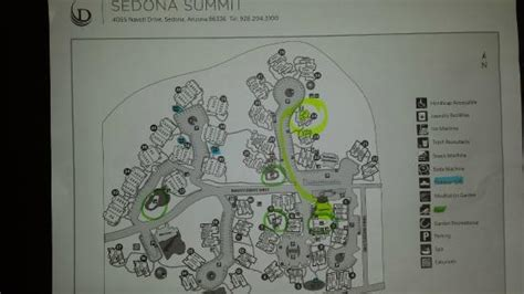 sedona summit resort floor plan property map view bldgs 24 27 39 41 picture of