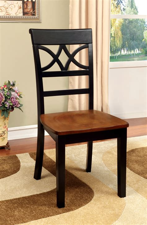 Furniture Of America Palister Country Furniture Of America Country Style Side Chair Set Of 2