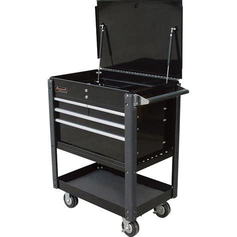 monster 4 drawer tool cart homak 4 drawer industrial service cart black model