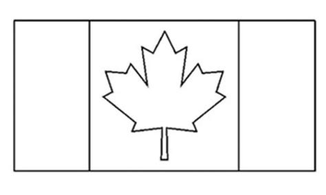 Flags Of The World Canada Kidspot Canada Flag Template