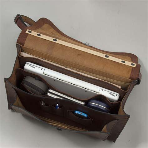 Handmade Leather Satchels Uk - briefcase satchel henry tomkins