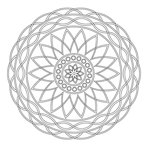simple pattern mandala simple mandala circle www pixshark com images