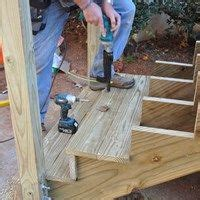 how to install deck lights on stairs decks com how to build a deck stairs steps