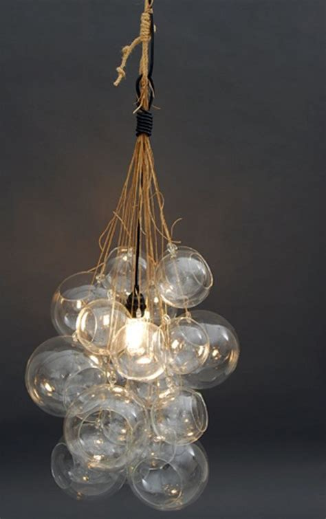Diy Glass Chandelier Glass Bulb Chandelier Diy Project Wedding