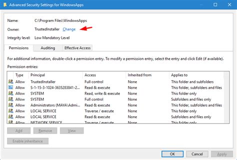 file bring safety home again take safety back gaining access to the windowsapps folder remedy
