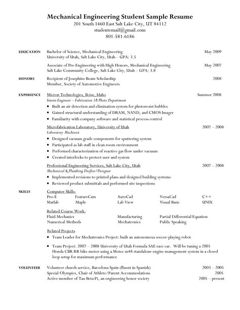 sle mechanical engineering resume doc 28 images resume