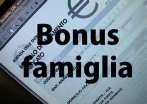 bonus famiglia 2016 bonus famiglia 2016 requisiti e regole inps a chi spetta