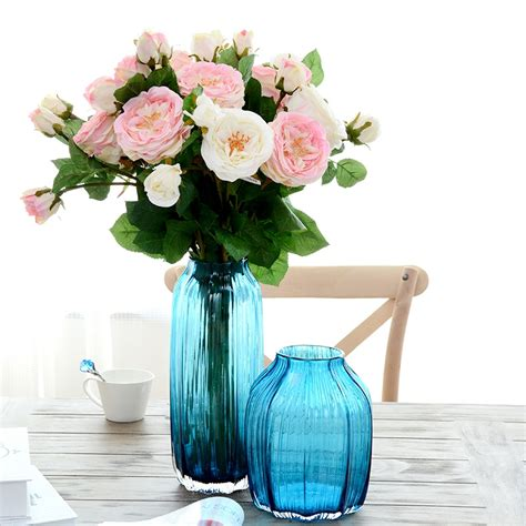 colored vases china glass vases on sale custom made blown glass