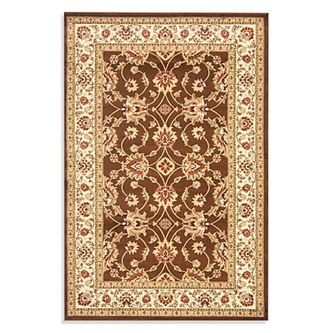 vanity rug buy safavieh vanity brown ivory 8 foot 9 inch x 12 foot room size rug from bed bath beyond