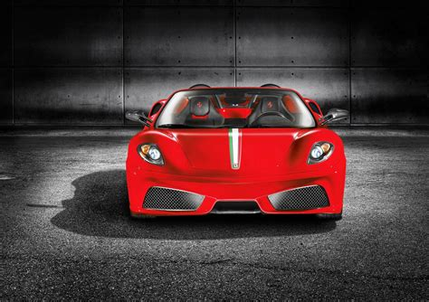 ferrari front view ferrari scuderia spider 16m car pictures images