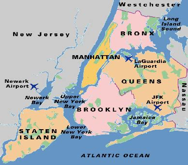 map of greater new york planning your new york city vacation