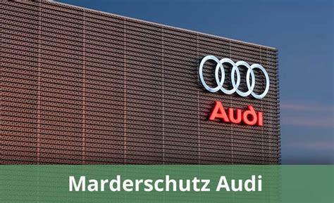 Audi Marderschutz by Original Audi Marderabwehr Komplettsatz Einbausystem
