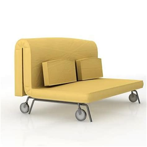 lay on the bed and gimme head 3d model of sofa ikea ps murbo 001