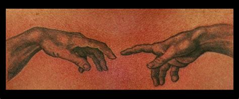 the creation of adam tattoo the creation of adam inspiration tattoos