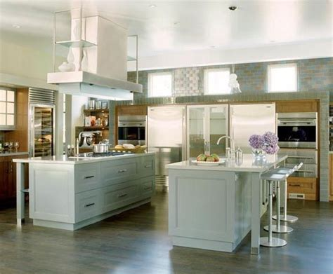 kitchens with 2 islands double kitchen islands kitchen pinterest