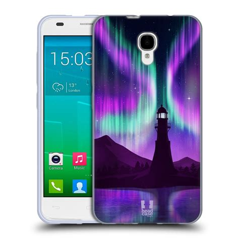 alcatel phone cases designs northern lights soft gel for