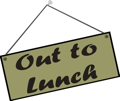 funny out to lunch signs free download clip art free clip art