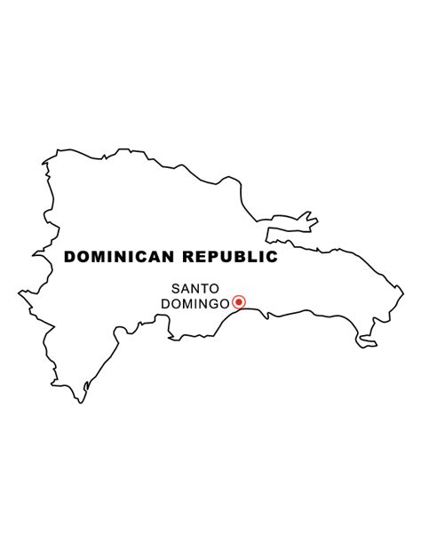 free dominican republic coloring pages