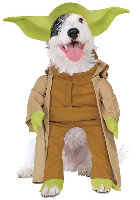 dogs halloween costume yoda dog costume