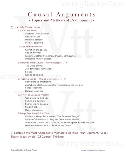 causal argument topics for a research paper causal essay writing tools
