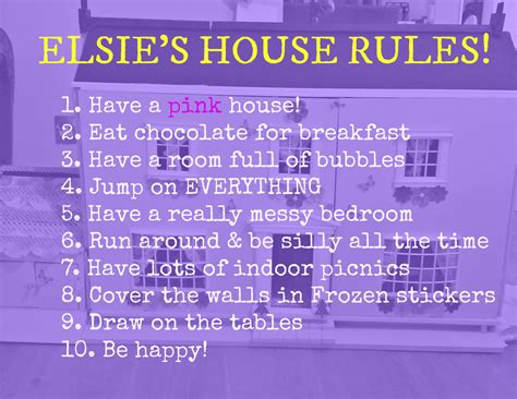 share your child s house rules to win 163 250 vouchers