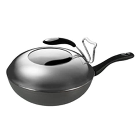 Happycall 32cm Chef Wok anodised cookware heap seng pte ltd