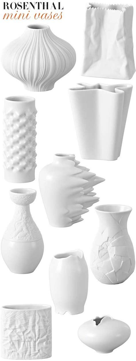 rosenthal vase rosenthal mini vases accessories porcelain ceramics