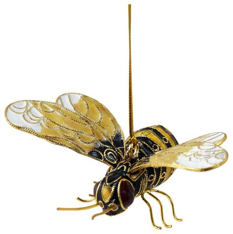bumble bee ornament traditional christmas ornaments