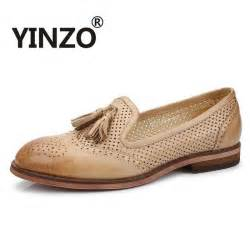 yinzo brand 2017 bullock hollow out oxford shoes for