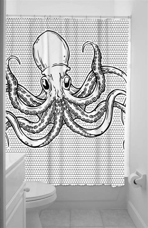 octopus bathtub octopus shower curtain tentacles pinterest