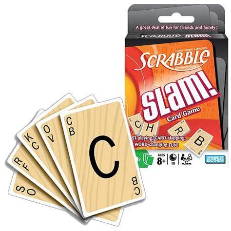 card like scrabble scrabble slam cards hasbro scrabble