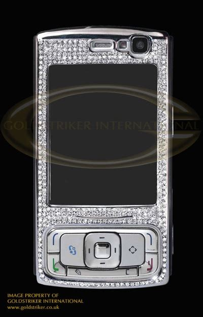 Nokia N95 Gets More Desirable With Diamonds goldstriker nokia n95 8gb edition itech news net