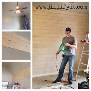 remodelaholic how to install a shiplap wall rustic